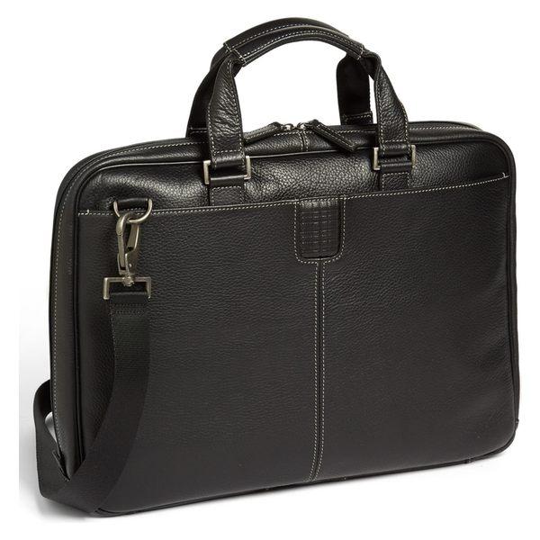 ボコニ メンズ ビジネス系 バッグ Boconi 'Tyler' Briefcase Black
