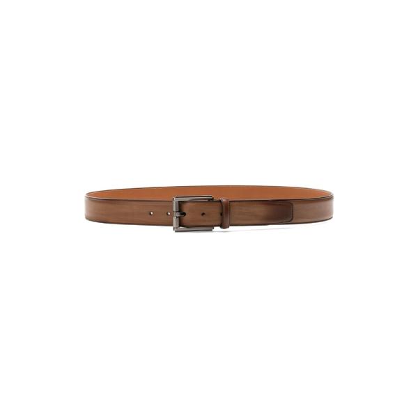 マグナーニ メンズ ベルト アクセサリー Magnanni Boltan Leather Belt Tabaco