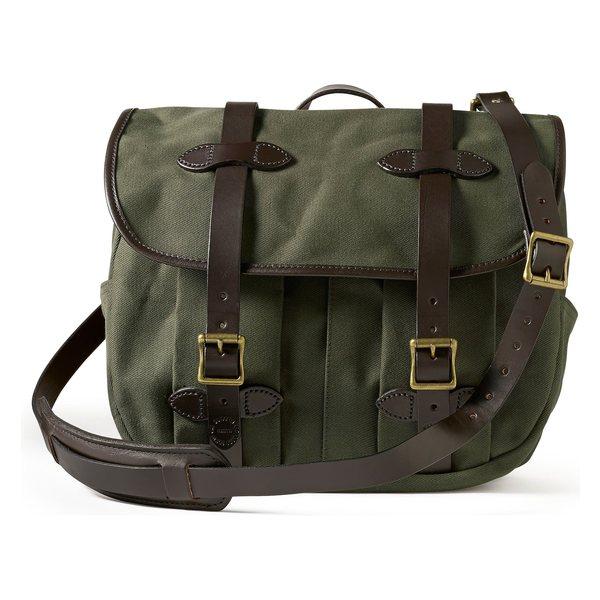 フィルソン メンズ ショルダーバッグ バッグ 公式 Filson Green Medium Field Otter 2020新作 Bag