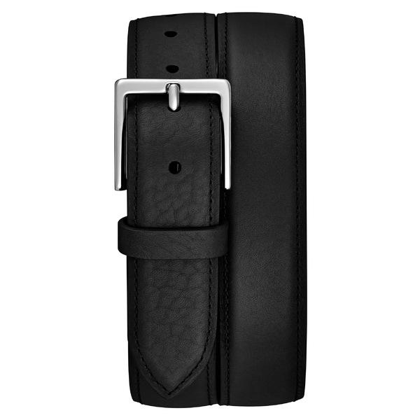 シャイノーラ メンズ ベルト アクセサリー Shinola Bombay Tab Leather Belt Black