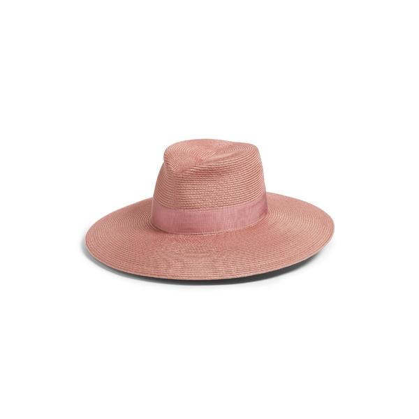 エリックジャヴィッツ レディース アクセサリー 帽子 Blush 全商品無料サイズ交換 エリックジャヴィッツ レディース 帽子 アクセサリー Eric Javits 'Daphne' Broad Brim Fedora Blush