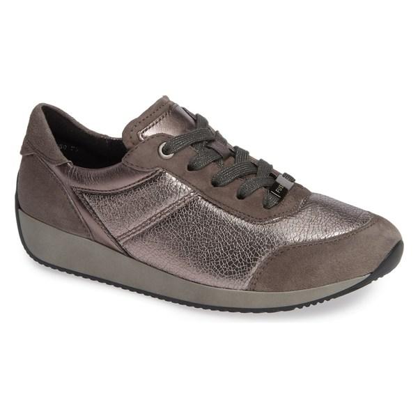 アラ レディース スニーカー シューズ ara Lana Sneaker (Women) Street Metallic Leather