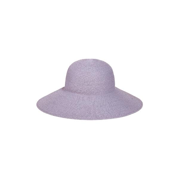 エリックジャヴィッツ レディース 帽子 アクセサリー Eric Javits 'Hampton' Straw Sun Hat Lilac