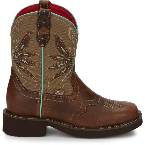 Justin レディース シューズ 待望 ブーツ レインブーツ Tan 全商品無料サイズ交換 Western Gypsy Women's Nettie 手数料無料 ジャスティン Boots