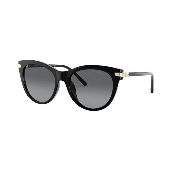 マイケルコース レディース サングラス&アイウェア アクセサリー Women's Polarized Sunglasses, MK2112U Black/Grey Gradient Polar