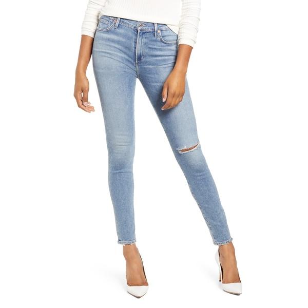 シチズンズ オブ ヒューマニティ レディース カジュアルパンツ ボトムス Citizens of Humanity Rocket Ripped Skinny Jeans (Keeper) Keeper
