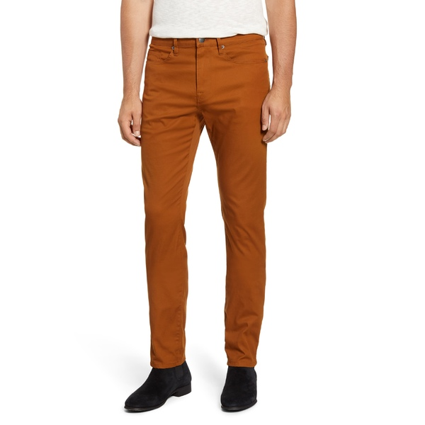 フレーム メンズ カジュアルパンツ ボトムス FRAME L'Homme Slim Fit Twill Pants Copper