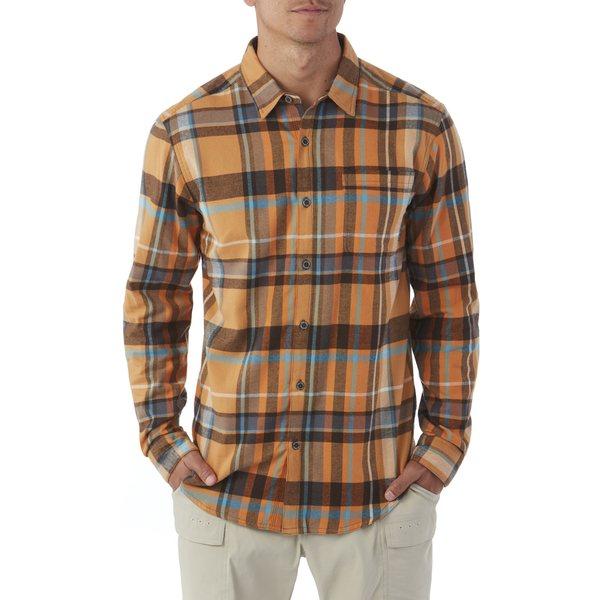 コロンビア メンズ シャツ トップス Boulder Ridge Flannel Shirt - Men's Valencia Large Plaid