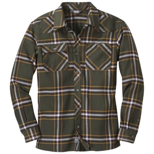 アウトドアリサーチ メンズ シャツ トップス Feedback Flannel Shirt - Men's Juniper Plaid