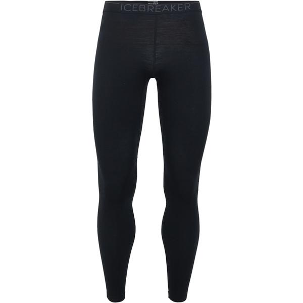 アイスブレーカー メンズ カジュアルパンツ ボトムス 200 Zone Leggings - Men's Black/Mineral