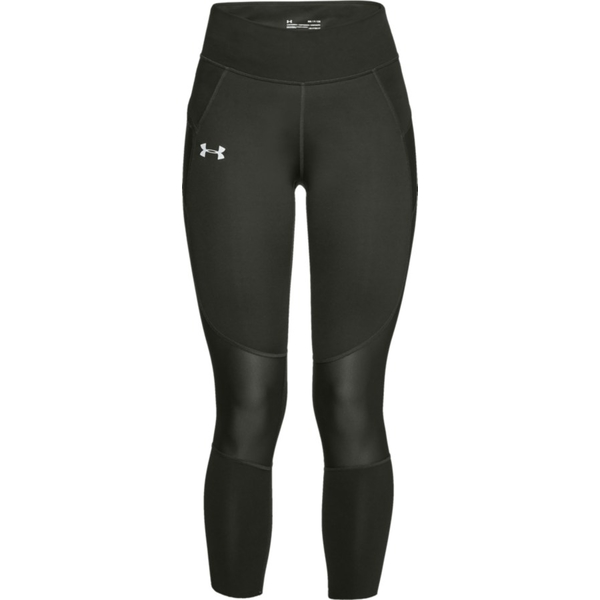 アンダーアーマー レディース レギンス ボトムス SpeedPocket Run Crop Leggings - Women's Artillery Green/Reflective