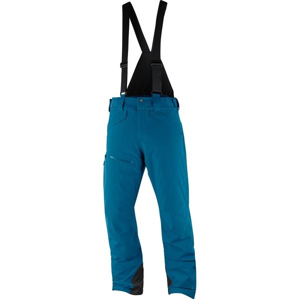 サロモン メンズ スキー スポーツ Chill Out Bib Snow Pants - Men's Moroccan Blue