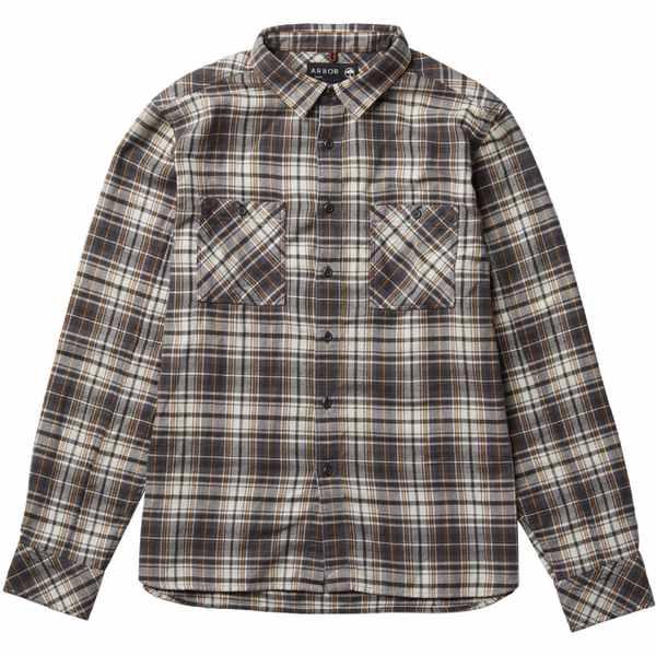 アーボー メンズ シャツ トップス Heirloom Shirt - Men's Vintage Black