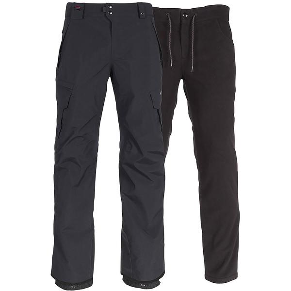 シックスエイトシックス メンズ カジュアルパンツ ボトムス Smarty 3-in-1 Cargo Snow Pants - Men's Black