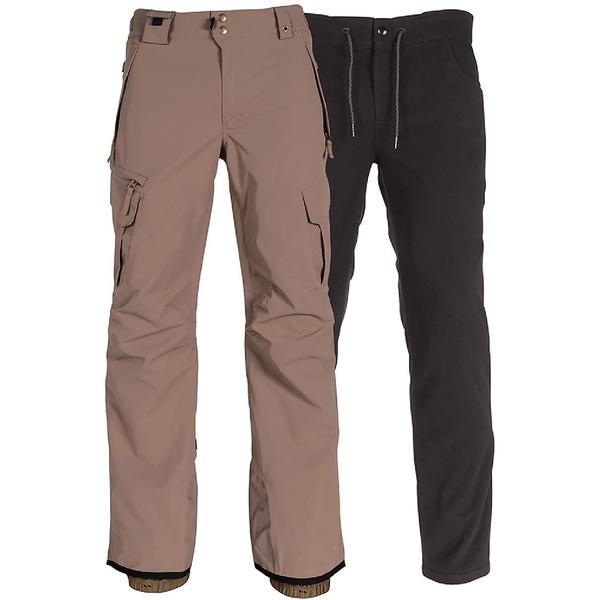 シックスエイトシックス メンズ カジュアルパンツ ボトムス Smarty 3-in-1 Cargo Snow Pants - Men's Khaki
