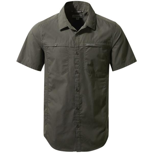 クラッグホッパーズ メンズ シャツ トップス Kiwi Trek Shirt - Men's Ashen