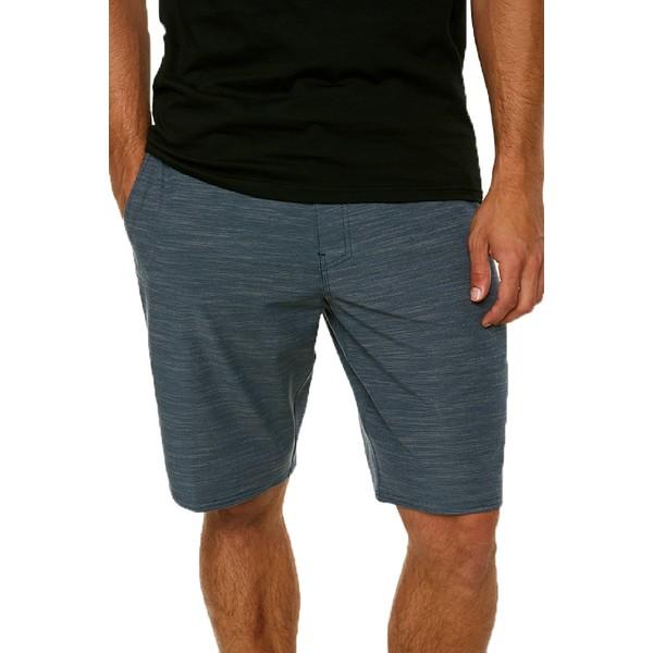 オニール メンズ ハーフ&ショーツ ボトムス Locked Slub Hybrid Board Shorts - Men's Slate
