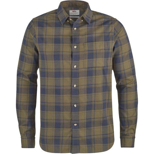 フェールラーベン メンズ シャツ トップス Ovik Flannel Shirt - Men's Khaki