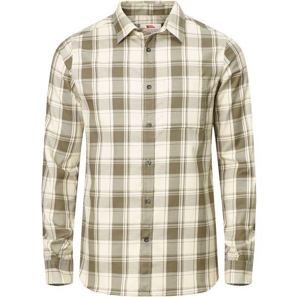 フェールラーベン メンズ シャツ トップス Ovik Flannel Shirt - Men's Tarmac