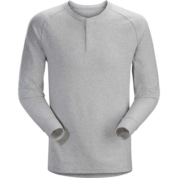 アークテリクス メンズ シャツ トップス Sirrus Henley Shirt - Men's Delos Grey Heather