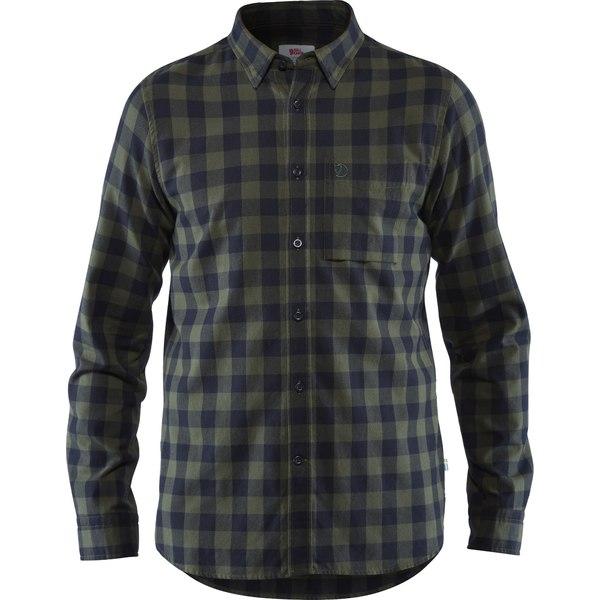 フェールラーベン メンズ シャツ トップス Ovik Check Shirt - Men's Deep Forest
