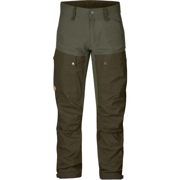 フェールラーベン メンズ カジュアルパンツ ボトムス Keb Trousers - Men's Tall Sizes Deep Forest/Laurel Green