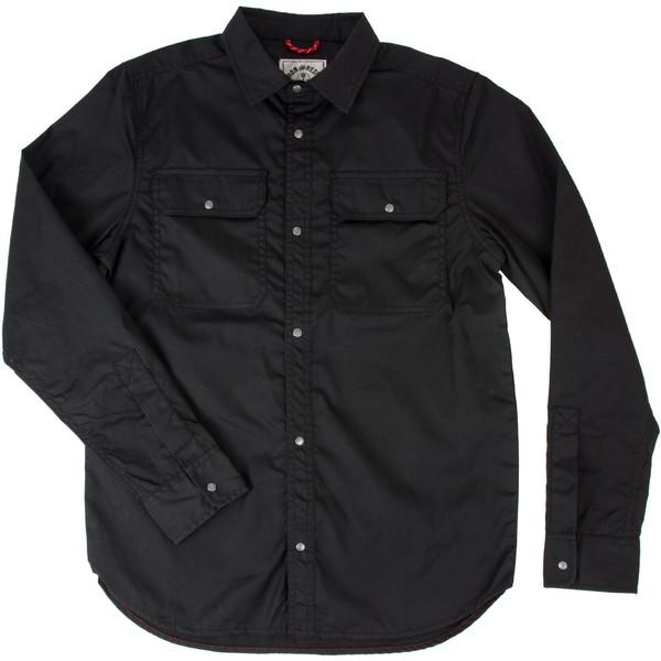 アイアンアンドレジン メンズ シャツ トップス Highland Shirt - Men's Black
