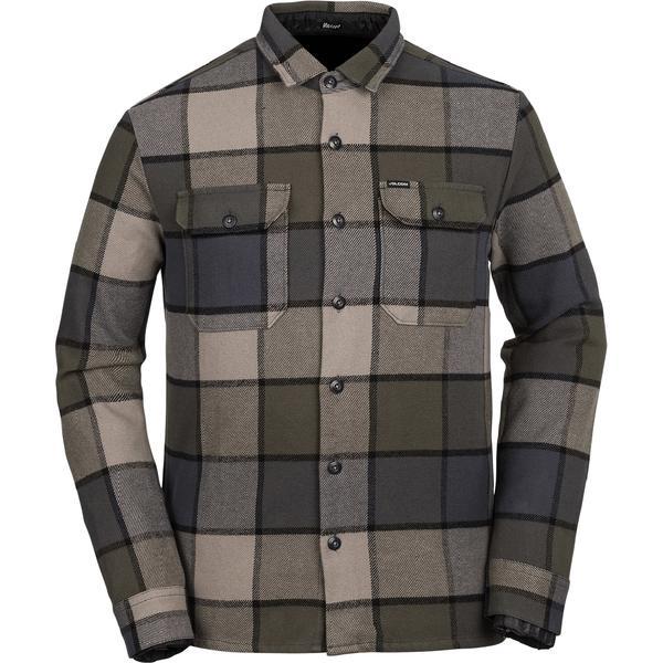 ボルコム メンズ シャツ トップス Randower Shirt - Men's Military