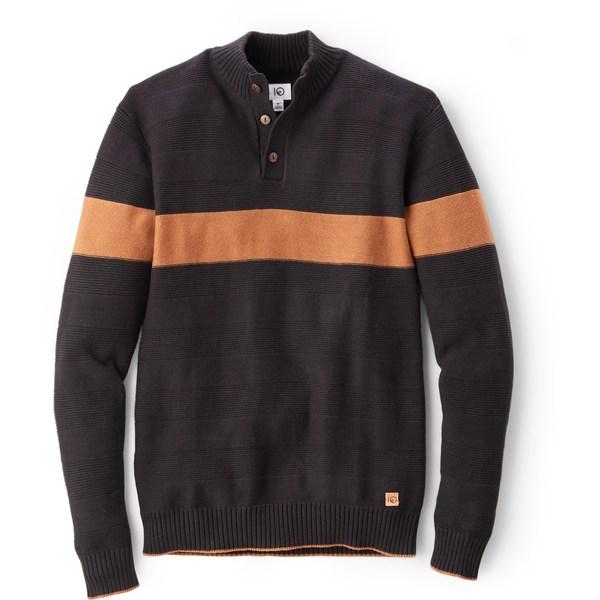 テンツリー メンズ ニット&セーター アウター Iko Button-Up Sweater - Men's Meteorite