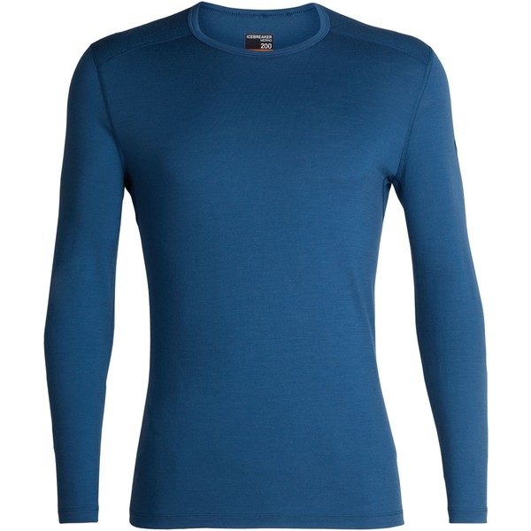 アイスブレーカー メンズ Tシャツ トップス 200 Oasis Crew Top - Men's Prussian Blue