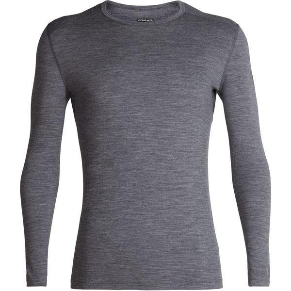 アイスブレーカー メンズ Tシャツ トップス 200 Oasis Crew Top - Men's Gritstone Heather