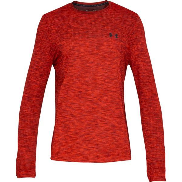 アンダーアーマー メンズ シャツ トップス Vanish Seamless Long-Sleeve Shirt - Men's Radio Red