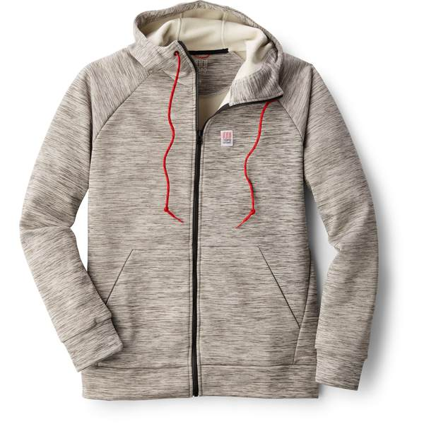 トポ・デザイン メンズ パーカー・スウェットシャツ アウター Mountain Fleece Hoodie - Men's Gray