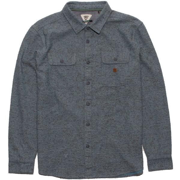 ヴィスラ メンズ シャツ トップス Bay Shore Flannel Shirt - Men's Breaker Blue