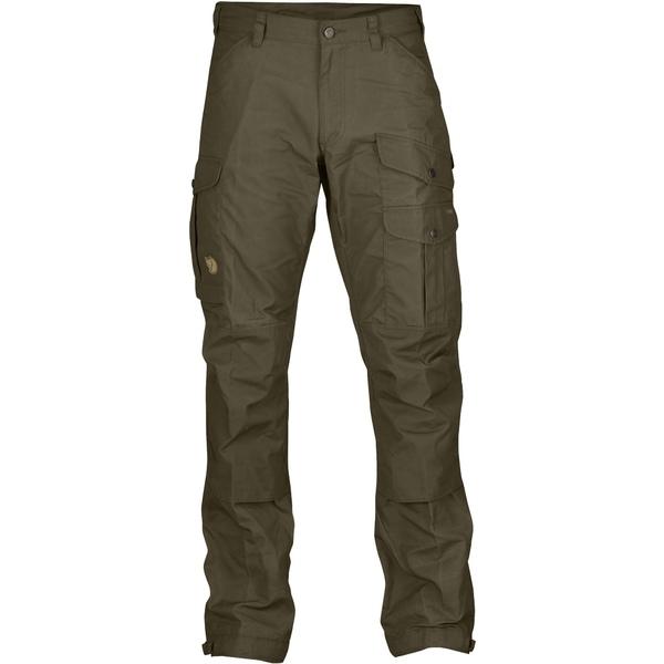フェールラーベン メンズ カジュアルパンツ ボトムス Vidda Pro Trousers - Men's Long Dark Olive/Dark Olive