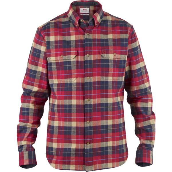 フェールラーベン メンズ シャツ トップス Singi Heavyweight Flannel Shirt - Men's Deep Red