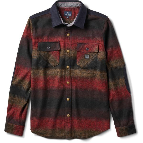 ロアークリバイバル メンズ シャツ トップス Nordsman Flannel Shirt - Men's Burgundy