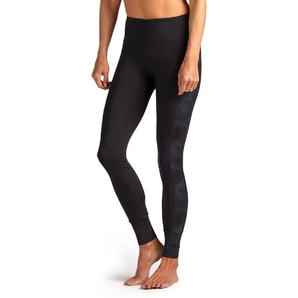 ビュオーリ レディース レギンス ボトムス Asymmetric Block Leggings - Women's Black