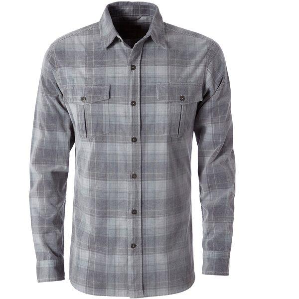 ロイヤルロビンズ メンズ シャツ トップス Covert Cord Shirt - Men's Lt Pelican