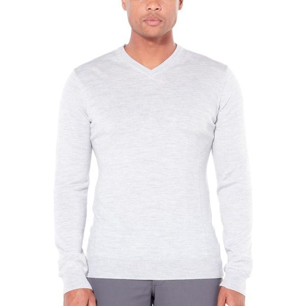 アイスブレーカー メンズ ニット&セーター アウター Shearer V Sweater - Men's Steel Heather
