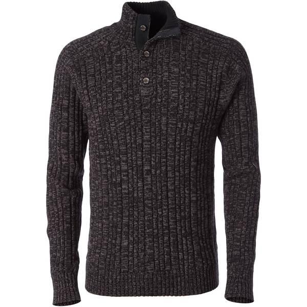 ロイヤルロビンズ メンズ ニット&セーター アウター Oban Button Mock Sweater - Men's Jet Black