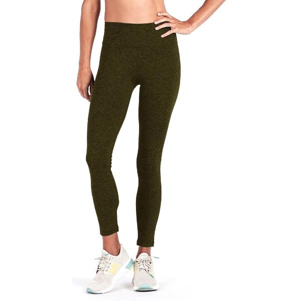 ビュオーリ レディース レギンス ボトムス Outerlands High-Rise 7/8 Leggings - Women's Moss Heather