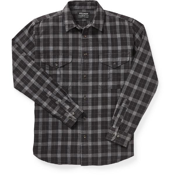 フィルソン メンズ シャツ トップス Lightweight Alaskan Guide Shirt - Men's Heather Grey