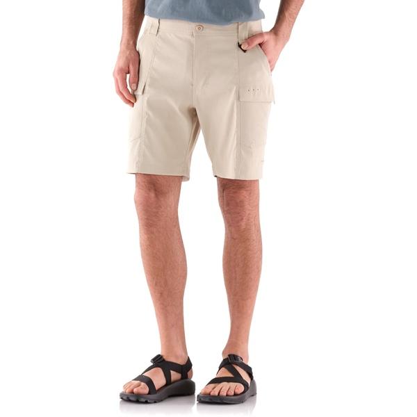 コロンビア メンズ ハーフ&ショーツ ボトムス Low Drag Shorts - Men's Fossil
