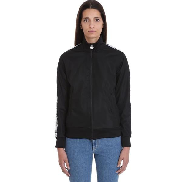 シアラフェラーニ レディース パーカー・スウェットシャツ アウター Chiara Ferragni Sweatshirt In Black Cotton black