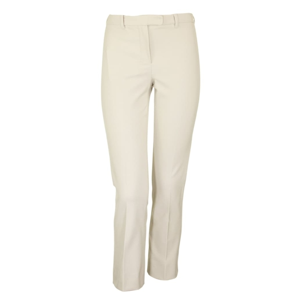 マックスマーラ レディース カジュアルパンツ レディース ボトムス Max Mara Mara Umanita Slim-fit Cropped Stretch-twill Stretch-twill Trousers Beige, 八尾市:1009879a --- officewill.xsrv.jp