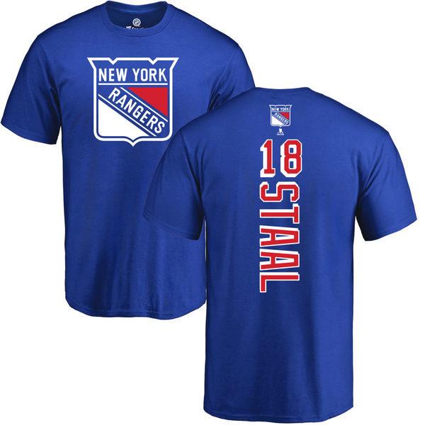 ファナティクス メンズ Tシャツ トップス New York Rangers Fanatics Branded Personalized Playmaker TShirt Royal:asty