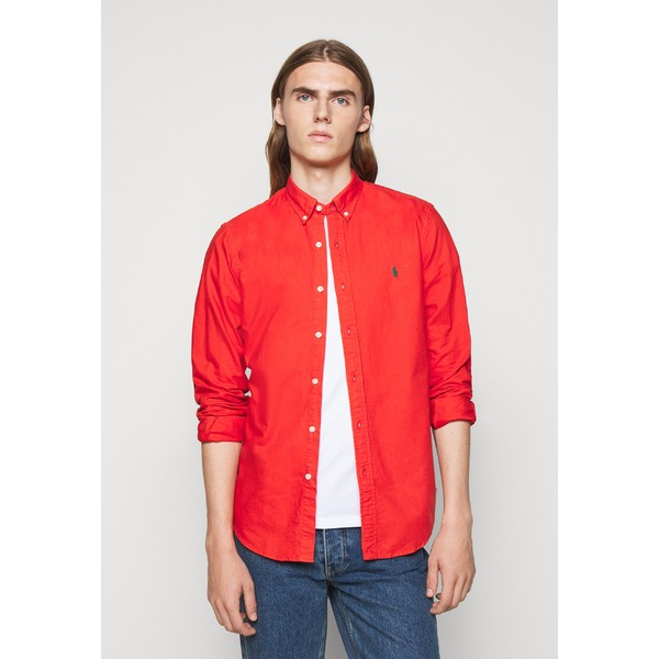 ラルフローレン 営業 メンズ 超定番 トップス シャツ orangey red rfai0027 - OXFORD Shirt 全商品無料サイズ交換