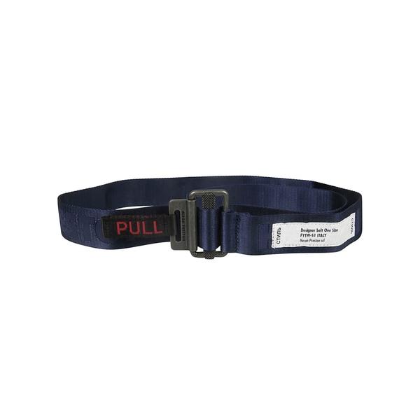ヘロン プレストン メンズ ベルト アクセサリー HERON PRESTON Kk Tape Belt Blu