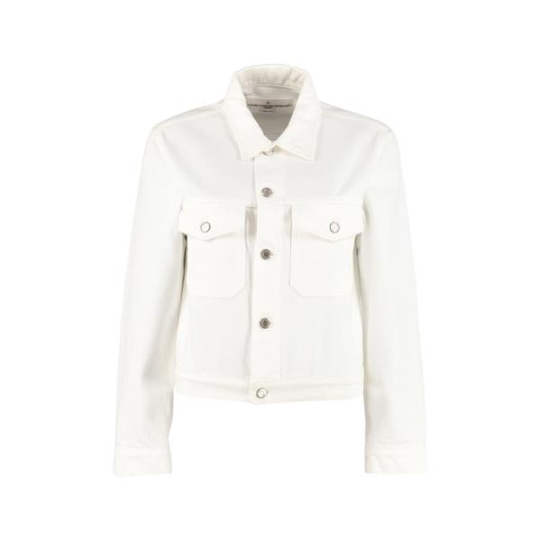 ゴールデングース レディース ジャケット&ブルゾン アウター Golden Goose Denim Jacket White